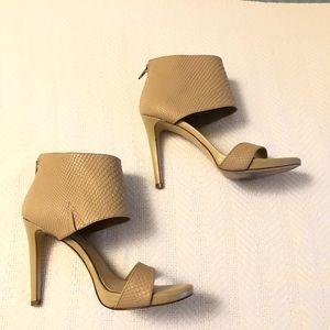 Gianni Bini Tahlia Nude Sierra Tan Heels Stiletto